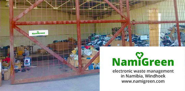 NamiGreen e-waste facility in Africa, Namibia