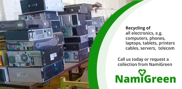 NamiGreen recycles all electronic waste